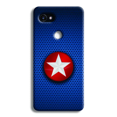Captain America Side Star Google Pixel 2 Case
