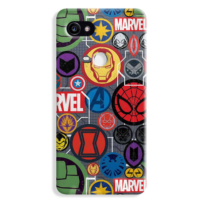 Marvel Iconic Mashup Google Pixel 2 Case