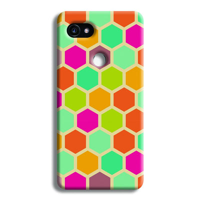 Hexagon Color Pattern Google Pixel 2 XL Case