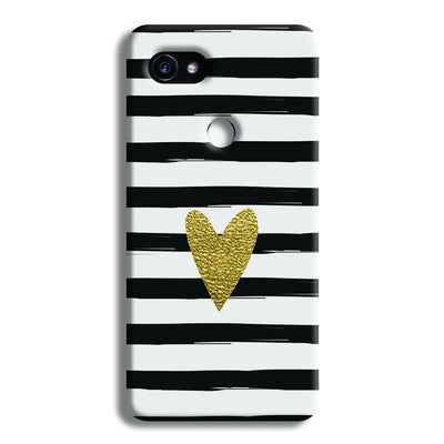 Bling Heart Google Pixel 2 XL Case