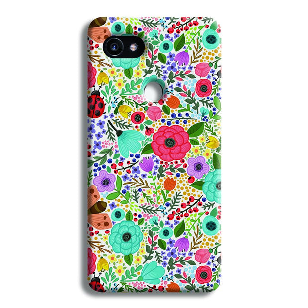 Floral Pattern Google Pixel 2 XL Case
