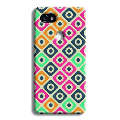 Shapes Pattern Google Pixel 2 XL Case