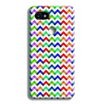 Colors Chevron Google Pixel 2 XL Case