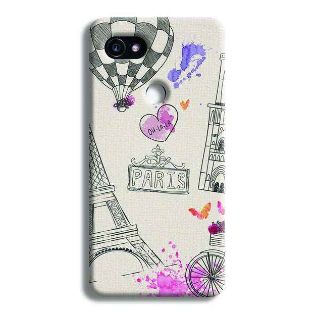 Paris Google Pixel 2 XL Case