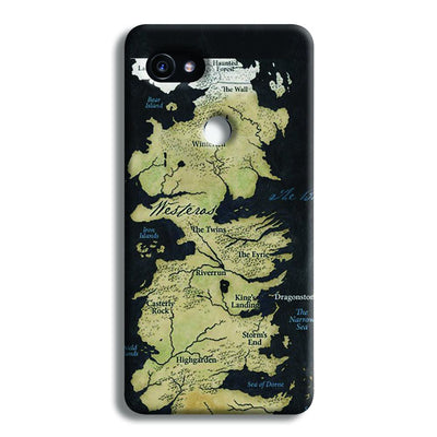 Game of Thrones Map Google Pixel 2 XL Case