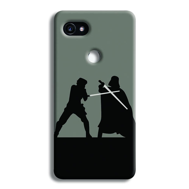 Luke vs Vader Google Pixel 2 XL Case