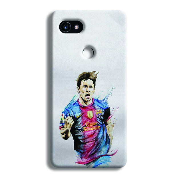 Messi White Google Pixel 2 XL Case