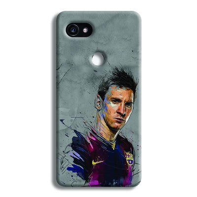 Messi Grey Google Pixel 2 XL Case