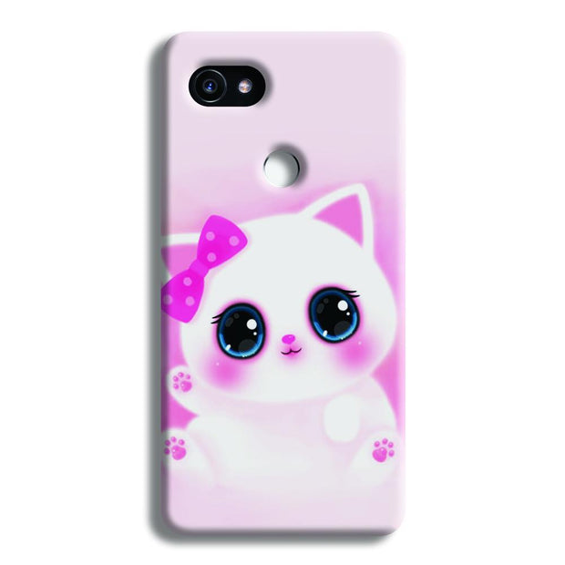 Pink Cat Google Pixel 2 XL Case