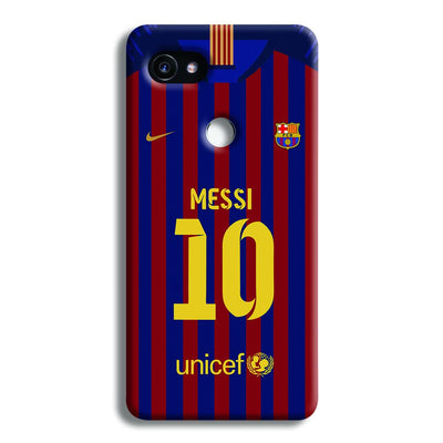 Messi (FC Barcelona) Jersey Google Pixel 2 XL Case