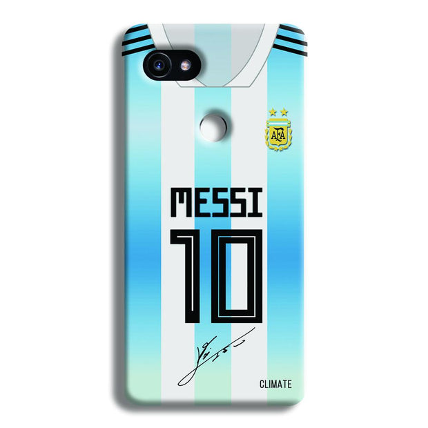 Messi Jersey Google Pixel 2 XL Case