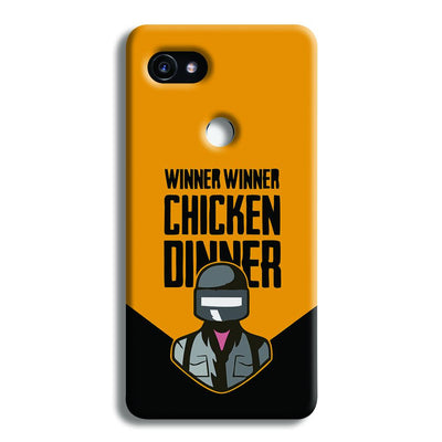 Pubg Chicken Dinner Google Pixel 2 XL Case