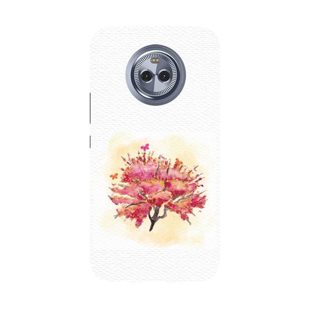 Butterfly Bush Moto X4 Case