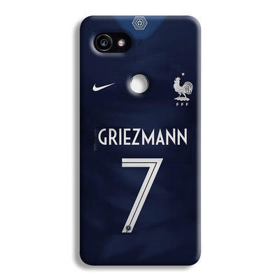Griezmann France Jersey Google Pixel 2 XL Case