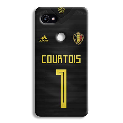 Thibaut Courtois of Club Jersy Google Pixel 2 XL Case