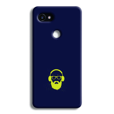 Bearded Man Google Pixel 2 XL Case