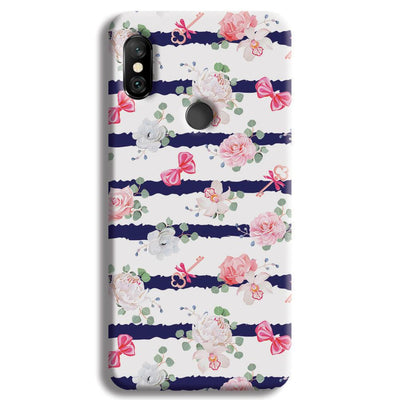 Ligth Pink Roses Redmi Note 6 Pro Case