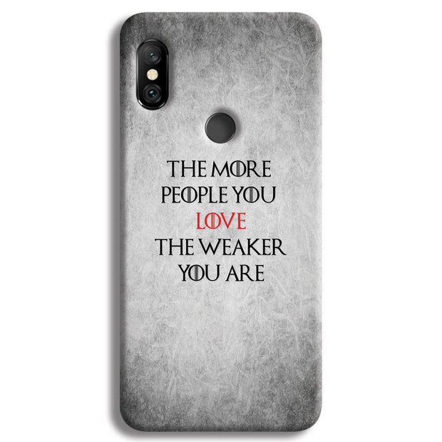 The More People Love You Redmi Note 6 Pro Case