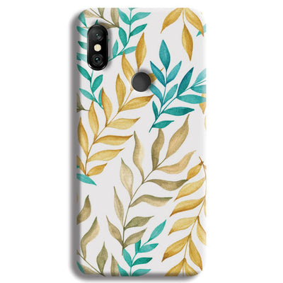 Tropical leaves  Redmi Note 6 Pro Case