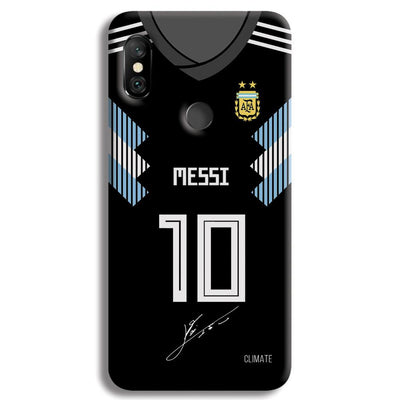 Messi (Argentina) Jersey Redmi Note 6 Pro Case