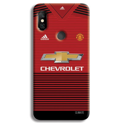Manchester United Jersey Redmi Note 6 Pro Case