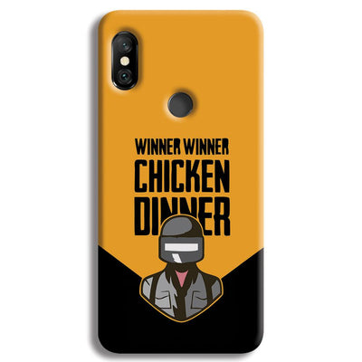 Pubg Chicken Dinner Redmi Note 6 Pro Case