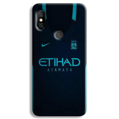Manchester City Away Jersey Redmi Note 6 Pro Case