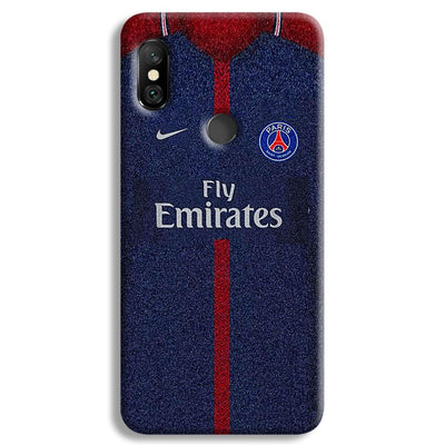 PSG Jersey Redmi Note 6 Pro Case