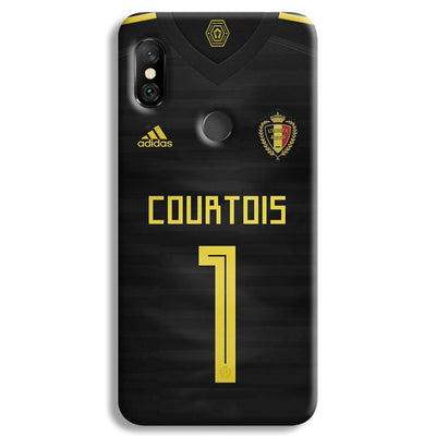 Thibaut Courtois of Club Jersy Redmi Note 6 Pro Case