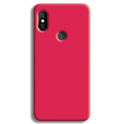 Hot Pink Redmi Note 6 Pro Case