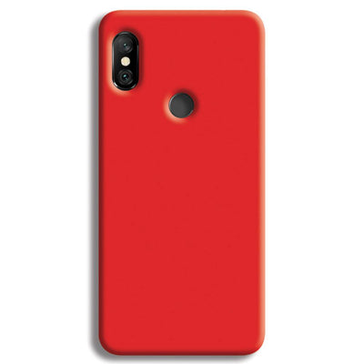Red Redmi Note 6 Pro Case