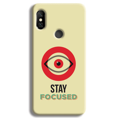 Stay Focussed Redmi Note 6 Pro Case