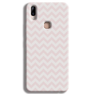 Light Pink Chevron Pattern Vivo Y83 Pro Case