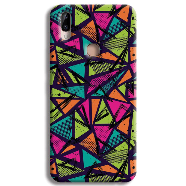 Geometric Color Pattern Vivo Y83 Pro Case