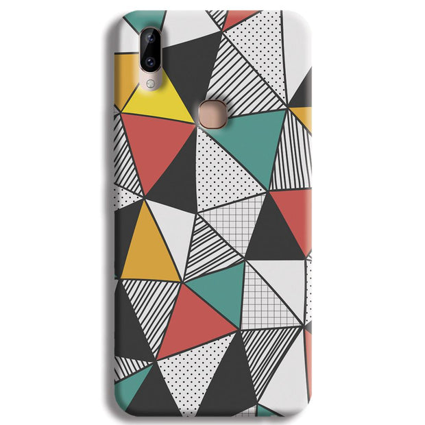 Triangle Abstract Pattern Vivo Y83 Pro Case