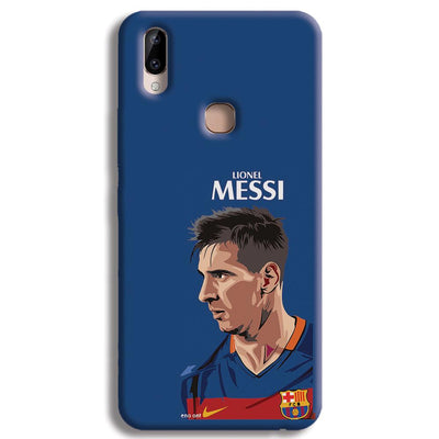 Messi Blue Vivo Y83 Pro Case