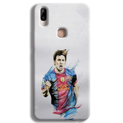 Messi White Vivo Y83 Pro Case