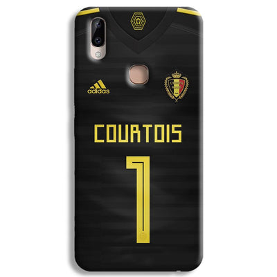 Thibaut Courtois of Club Jersy Vivo Y83 Pro Case
