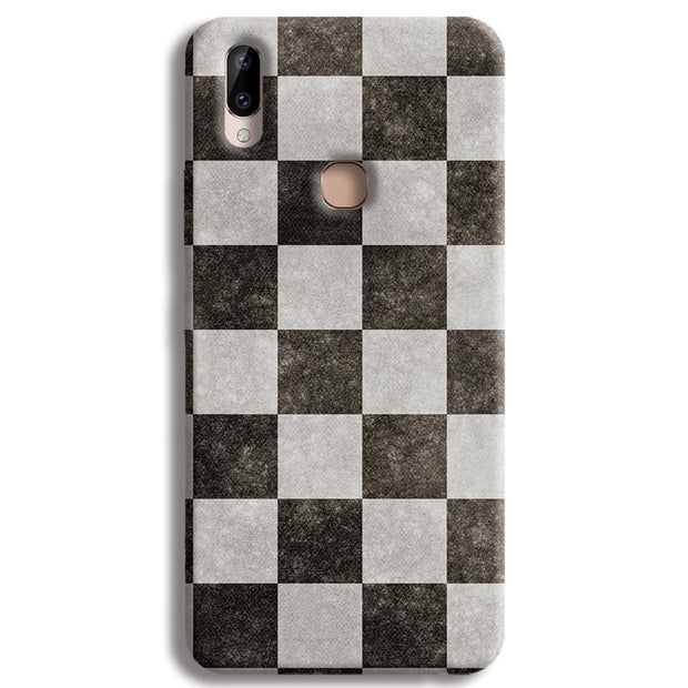 Checkered  Vivo Y83 Pro Case