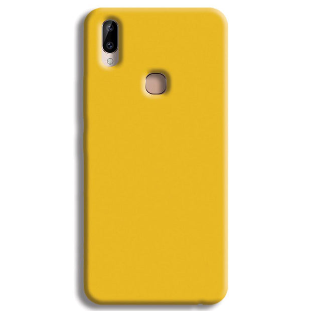 Yellow Crome Vivo Y83 Pro Case