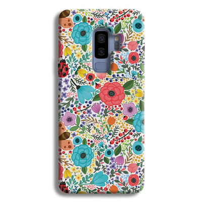 Floral Pattern Samsung Galaxy S9 Plus Case