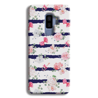 Ligth Pink Roses Samsung Galaxy S9 Plus Case