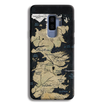 Game of Thrones Map Samsung Galaxy S9 Plus Case