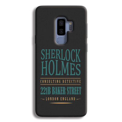Sherlock Holmes Quote Samsung Galaxy S9 Plus Case