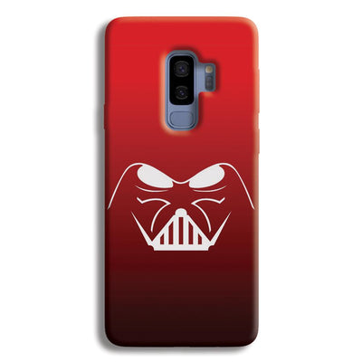 darth vader-Red Samsung Galaxy S9 Plus Case