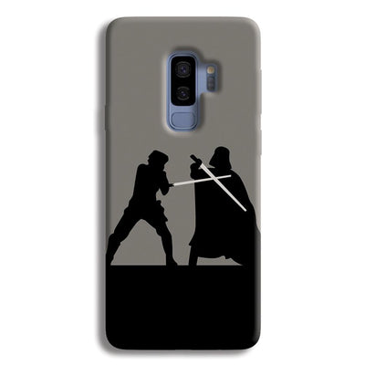 Luke vs Vader Samsung Galaxy S9 Plus Case