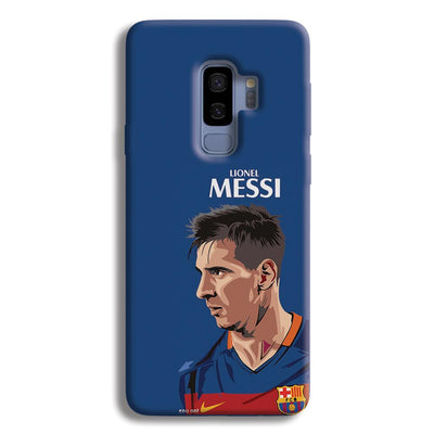 Messi Blue Samsung Galaxy S9 Plus Case
