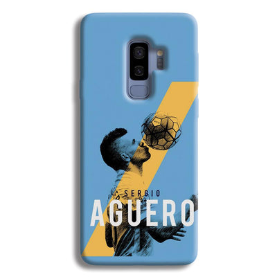 Sergio Aguero Samsung Galaxy S9 Plus Case