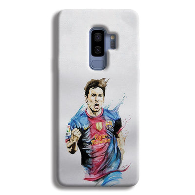 Messi White Samsung Galaxy S9 Plus Case