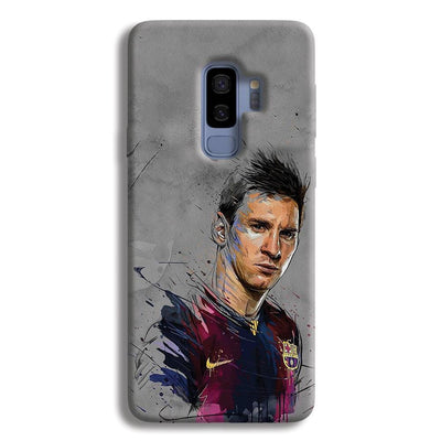 Messi Grey Samsung Galaxy S9 Plus Case